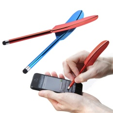 Capacitive Touch Screen Stylus Pen for iPad iPhone Smartphone Samsung Tablet Color Random - intl