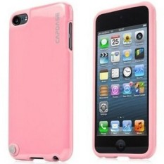 Capdase Apple IPod Touch 5 Case, Polimor Jacket Polishe - Pink