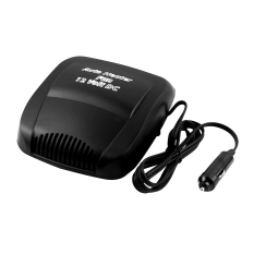 Car LED Screen Display12V Car Auto Vehicle Portable Ceramic Heater Heating Cooling Fan Defroster Black (Intl)