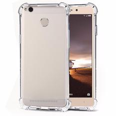 Case Anti Shock / Anti Crack Elegant Softcase for Xiaomi Redmi 3s Pro - White Clear
