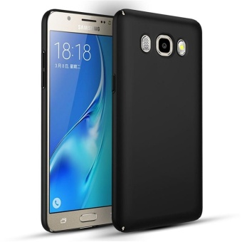 Case for Samsung Galaxy J5 (2016) J510 Ultra-thin Hard PC Full Body Smooth Grip Back Cover (Black) - intl