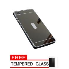 Slide Hitam Source Latest Case For Vivo Y51 Aluminium Bumper With Mirror Backdoor .