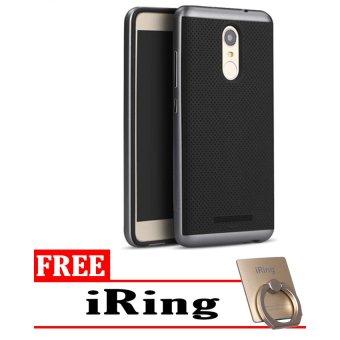 Case Ipaky Original For Xiaomi Redmi Note 4 + iRing - Grey