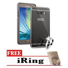 Case Metal for Samsung Galaxy J1 2016 (J120) Aluminium Bumper With Mirror Backdoor Slide