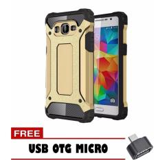 J510 J5 2016 Gold Free Usb Termurah Case Tough Armor Carbon For Samsung .