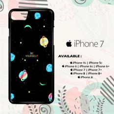 Casing iPhone 7 Custom Hardcase HP Be Yourself Planet L0320