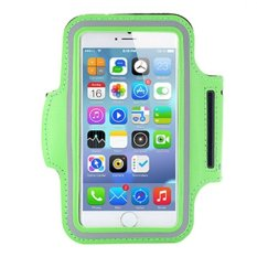 "Cell Mobile Phone Waterproof Armband Sports Running Protective Case Belt Holder GYM Arm Bag Band For IPhone 4/4S Universal 3.8"" (Green)"