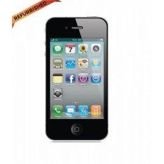 Refurbished Apple IPhone 4S - 16 GB - Hitam - Grade A