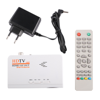 CHEER HD 1080P Without VGA Version DVB-T2 TV Box Receiver Remote Control