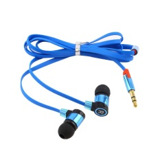 CHEER Stereo 3.5mm In Ear Headphone Earphone Headset Earbud For IPhone Smart Phone Blue (Intl)