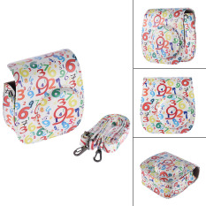Classic Vintage Compact PU Leather Case Bag For Fujifilm Instax Mini 8 Instant Film Camera With Shoulder Strap Outdoorfree