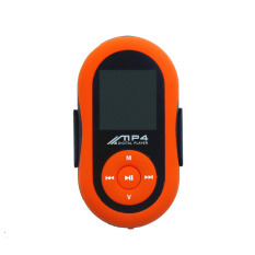 Clip Sport MP4 Player With 8G Memory Card - Orange Color (Intl)