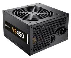 Corsair Power Supply VS450 (Pure Power 450W, 80 + Certified)