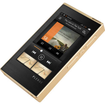 "Cowon Digital Media Player MP3 HiFi Audio 24bit 128GB 3.7"" Touch (Gold)"