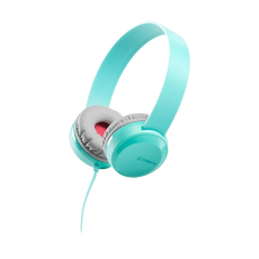 Cresyn C260H Mint Blue Stereo Headphones With Mic & Volume Control