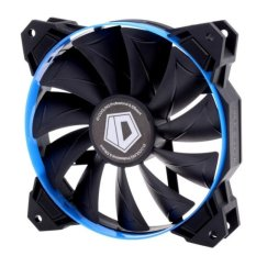 CST SF12025 ID-Cooling 12CM Cabinet Fan With 4 Interchangeable Color Rings (Blue)
