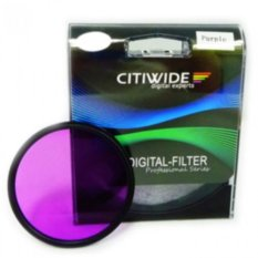 CW 72mm Purple Color Effect Filter
