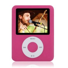 "Cyber 8GB Slim MP3 MP4 Player 1.8"" LCD Screen FM Radio Video Games Movies W78 (Pink)"