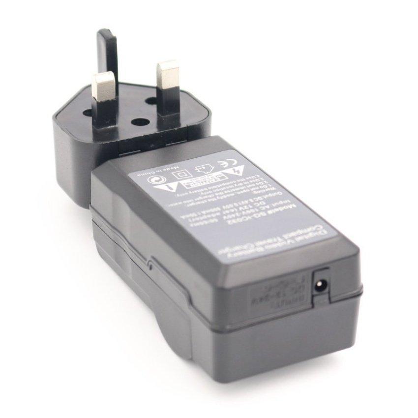 D-LI90 WallL+Car AC+DC DLI90 Battery Charger for .