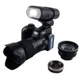 D3200 Digital SLR Camera 16 Million Pixel High Definition HD 5.0MP CMOS 3 inch Inch LTPS 21X Optical Zoom DSLR Camera (Black)