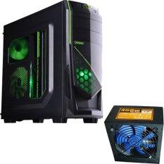 Dazumba Gaming Computer Case D-Vito - 685 + Power Supply Dazumba PS - 450W