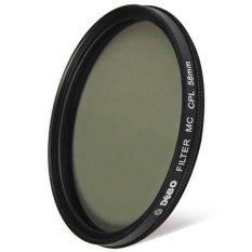 DEBO 58mm Diameter Camera CPL Filter For Photographer Shutterbug