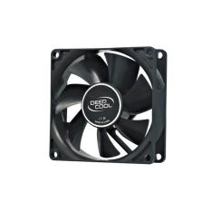 Deepcool Xfan 80 Black with Hydro Bearing - Fan Case 8cm - BLACK