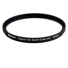 Digital Slim HD DLP MC-UV 58mm Filter For Canon (Intl)