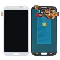 Display LCD With Digitizer Assembly For Note2 N7100 LCD For Samsung Galaxy Note 2 N7100 White - Intl