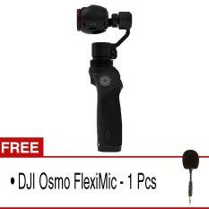 Dji Osmo Handheld 4K and 3 Axis Gimbal - Hitam + Gratis DJI Osmo FlexiMic