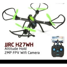 Drone JJRC H27WH H27 WH RTF wifi fpv camera altitude hold one key return Headless RC Quadcopter mainan heli foto syma wltoys dji