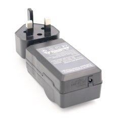 DSC-W320 Battery Charger For SONY Cyber-Shot DSC-W310 DSC-W330 DSC-W530 Digital Camera AC + DC Wall + Car (Black) (Intl)