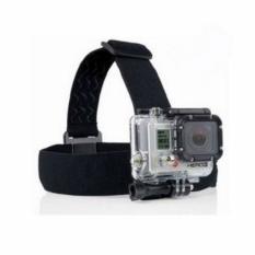 DVR Accessories Elastic Adjustable Head Strap For SJcam SJ4000 SJ5000 M10 SJ5000X X1000 SJ1000 Gopro (Black)