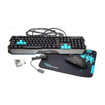E-Blue Gaming Combo 3 In 1 Keyboard + Mouse + Mouse Pad - K820 / EKM820 (Black)