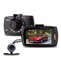 Eaglerich Dual Lens G30 Full HD 1080.2.7 LCD Night Vision G-sensorDash Cam Car DVR Vehicle Recorder Camera With Rear Camera