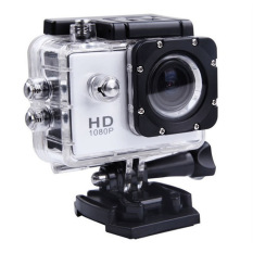 Easybuy SJ500.12MP HD 1080P Car Cam Sports DV ActionWaterproofCamera 1x Battery (White) - Intl
