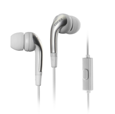 Edifier H220P In-Ear Earphones HIFI Headset Stereo Audio Headphones With Microphone (White) - Intl