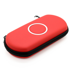 Elenxs Hard Carry Case Cover Protector For Sony Psp 200.3000 (Red)