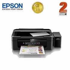 Epson Printer Multifungsi L385 Wifi - Hitam (Print, Scan, Copy)