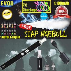 Evod Rokok Elektrik SIAP NGEBUL 1100mAh Include 1 Pcs E-Liquids