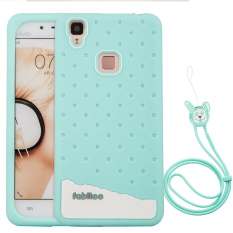 Samsung Galxay Source Fabitoo Cute ice cream silicone back cover case For VIVO .
