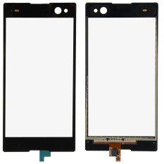 Fancytoy Digitizer Lens Glass For SONY Xperia C3 D2533 D2502 (Black) - Intl
