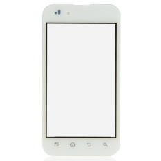 Fancytoy Replacement Glass Touch Screen Digitizer Parts For LG P970 Optimus White - Intl