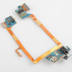 Fancytoy USB Charging Port Mic Headphone Jack Main Flex Cable For LG VS980 - Intl
