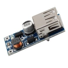 Fang Fang 0.9V-5V To 5V DC-DC Booster Module USB Mobile Step-up Power Supply (Silver)