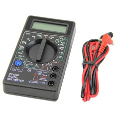 Fang Fang Pocket Digital Multimeter Ohm Voltmeter Ammeter AVO Meter DT830D Test Leads LCD
