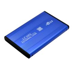 Fang Fang USB SATA 2.5inch HD / HDD Hard Disk Drive Enclosure External Case (Blue)