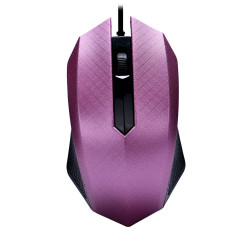 Fashion 1000 DPI USB Wired Optical Gaming Mice Mouse For PC Laptop Purple - Intl