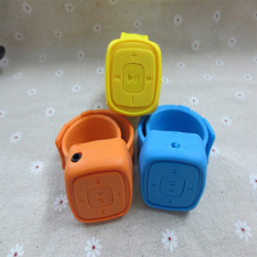 Fashion Design Wrist MP3 Player With TF Card Slot (Orange)