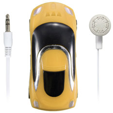 Five Star Store Mini Car Shape MP3 Music Player With Bundle USB And Earphone Hole